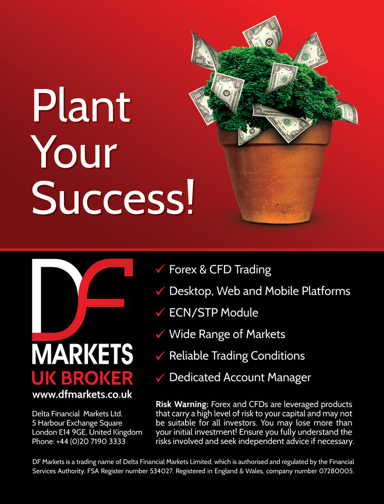df markets print ad for e forex magazine by jambazov on deviantart