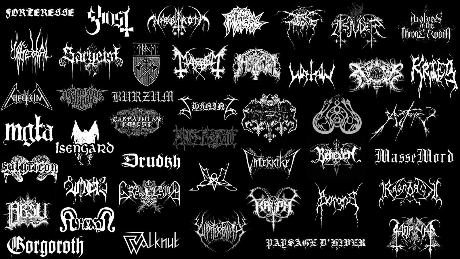 Black metal wallpaper by pggraphisme on deviantart - Black metal wallpaper ...