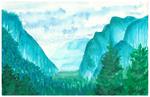 Landscape Postal Card
