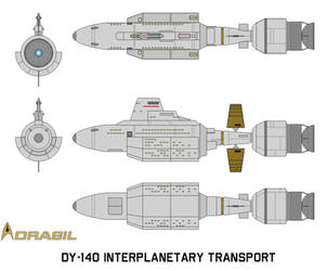 DY-140 Interplanetary Transport (2044) by RevancheRM