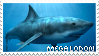 Megalodon Stamp by rattenstein