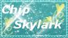 Chip Skylark Stamp by SuperSonicGirl79135