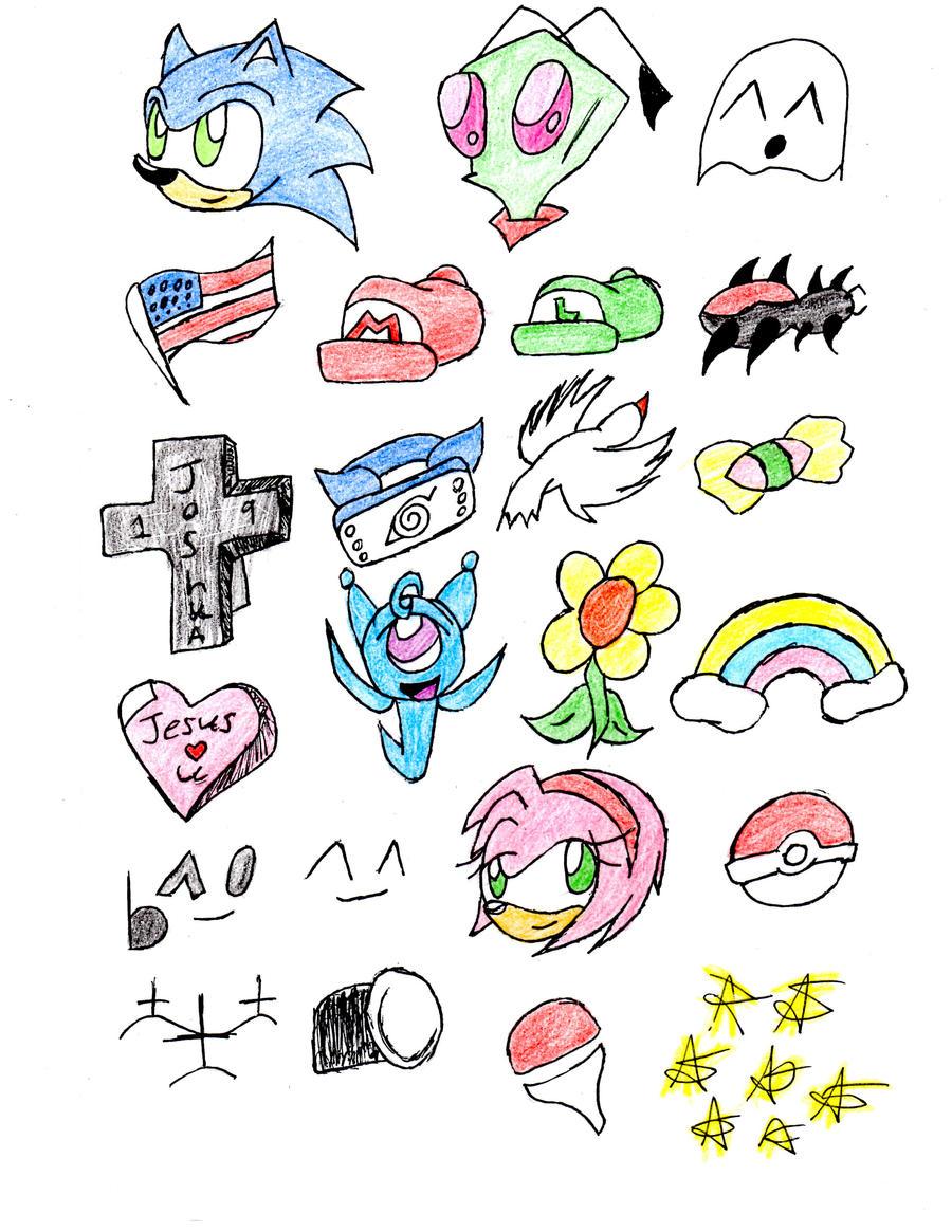 Easy Pokemon Face Paints