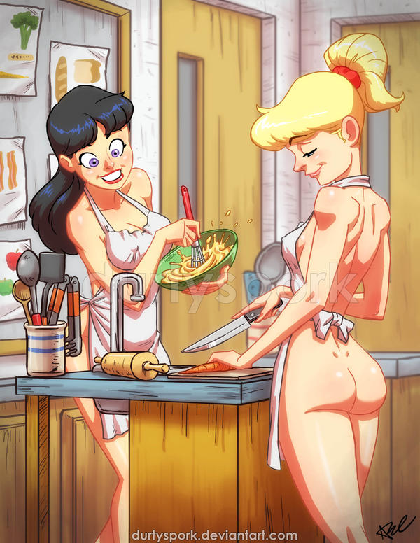 Betty and veronica nude