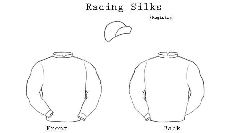 Jockey Silks Template By R A C E