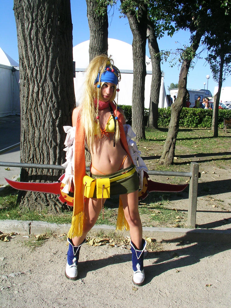 Rikku cosplay by CrazyRikku92