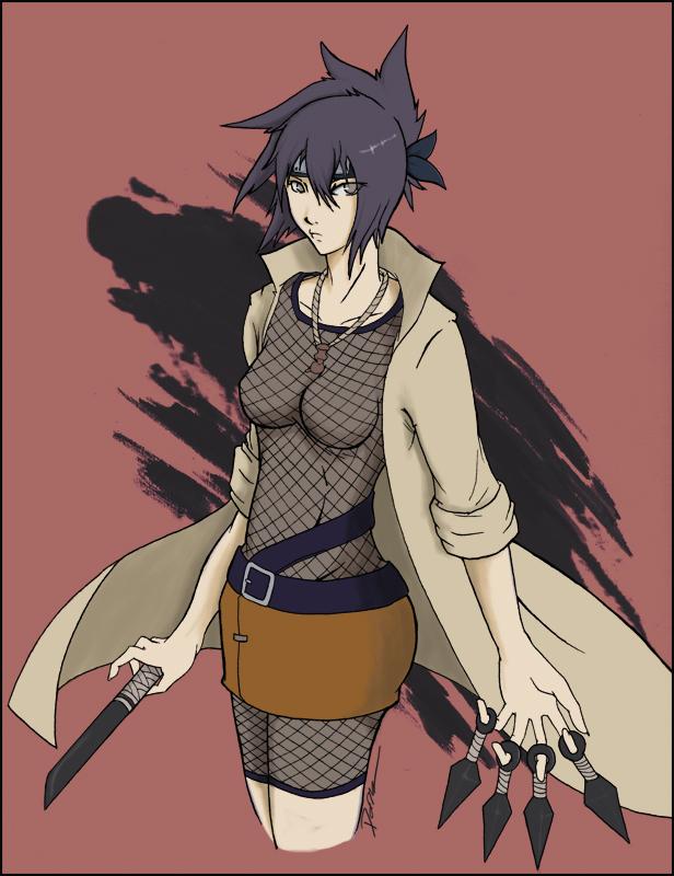 Mitarashi Anko by Gevurah Zombie Nano? OF THE EROS: Korezom Antology Comic (Hentai Manga)