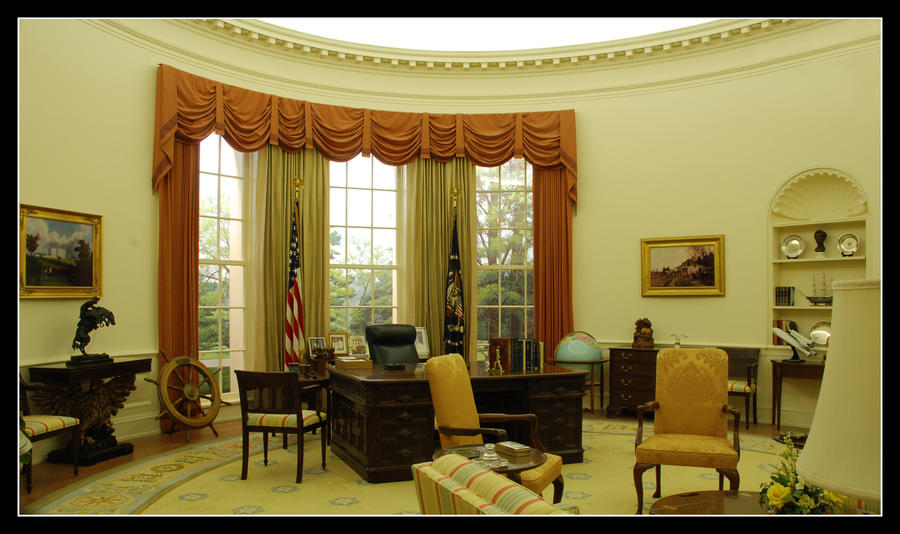 Good The White House Interior By Echengshi ...