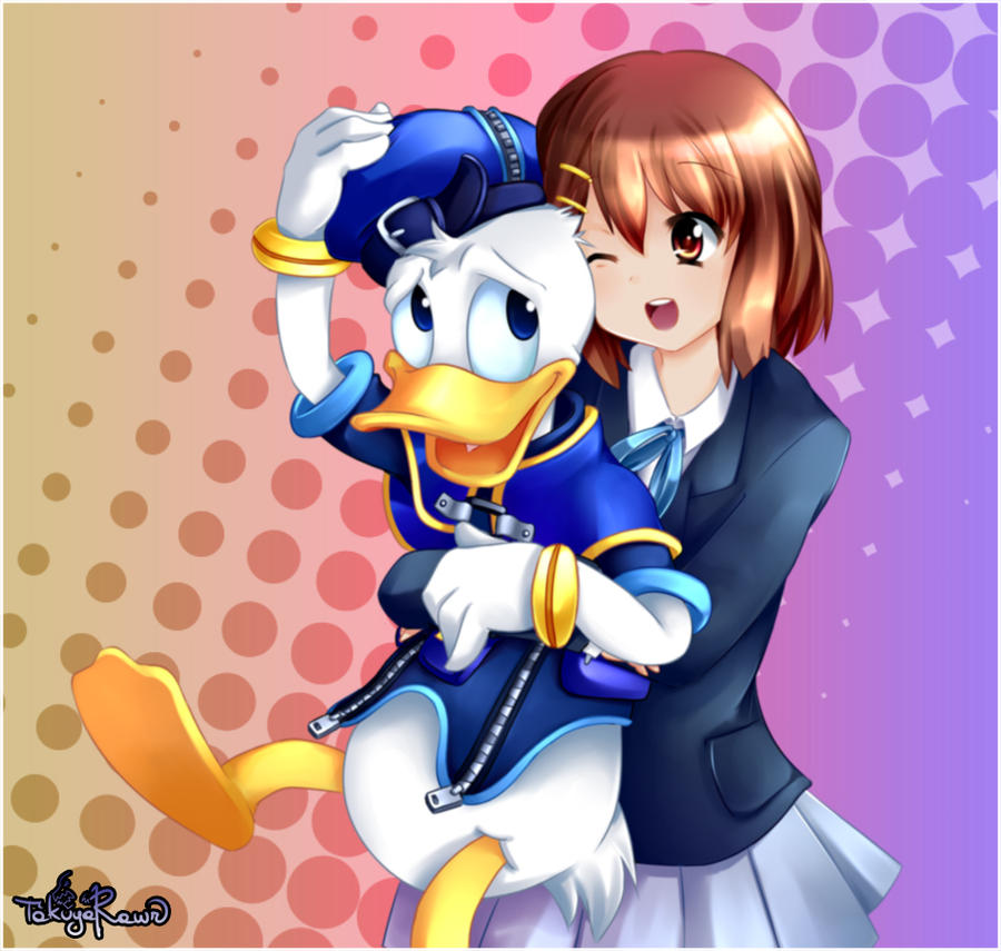 If Kingdom Hearts Met Anime By TakuyaRawr On DeviantArt
