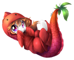 Silly Filly in Strawberryfish Suit