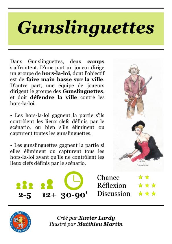 Panneau Gunslinguettes by XavierLardy