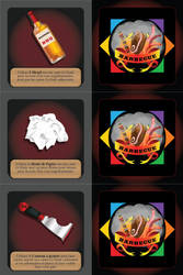 Barbecue - Accessory Cards 1 / 4 by XavierLardy