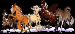 Herd for Lemondrop by sayna-jaye
