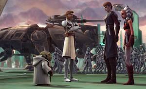Star Wars: The Clone Wars 4 by GavDude