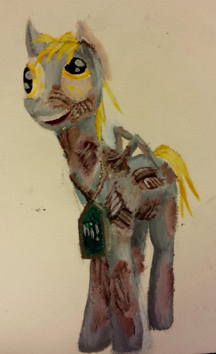 Derpy Ghoul by ClouseWalburg
