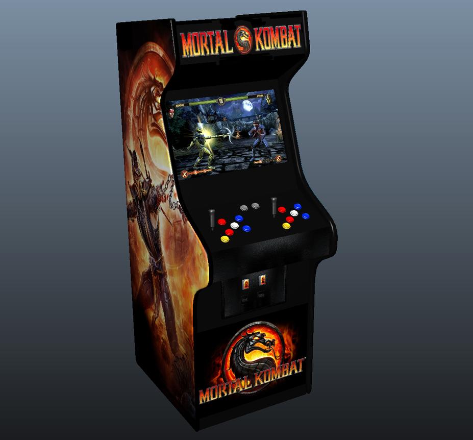 mortal kombat 9 arcade machine by greenmachine987 on deviantart