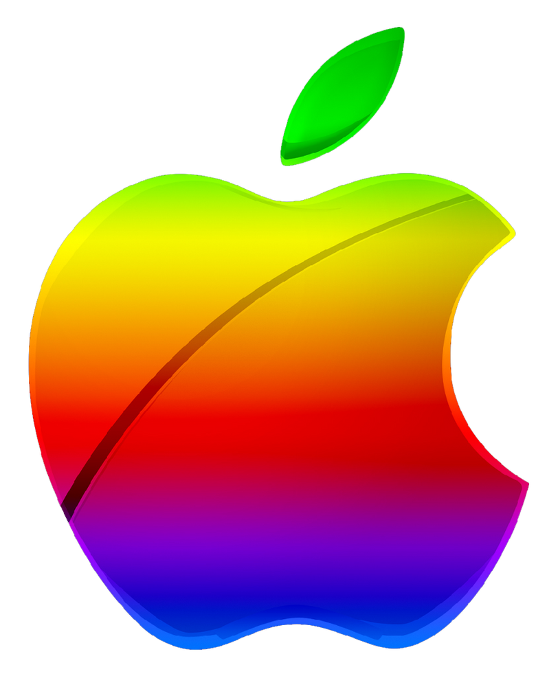 colorful apple logos. Colored Modern Apple Logo Vector By GreenMachine987 Colorful Logos I