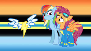 Rainbow Dash and Scootaloo, Years Into the Future