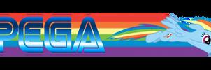 Sonic Rainboom PEGA Logo