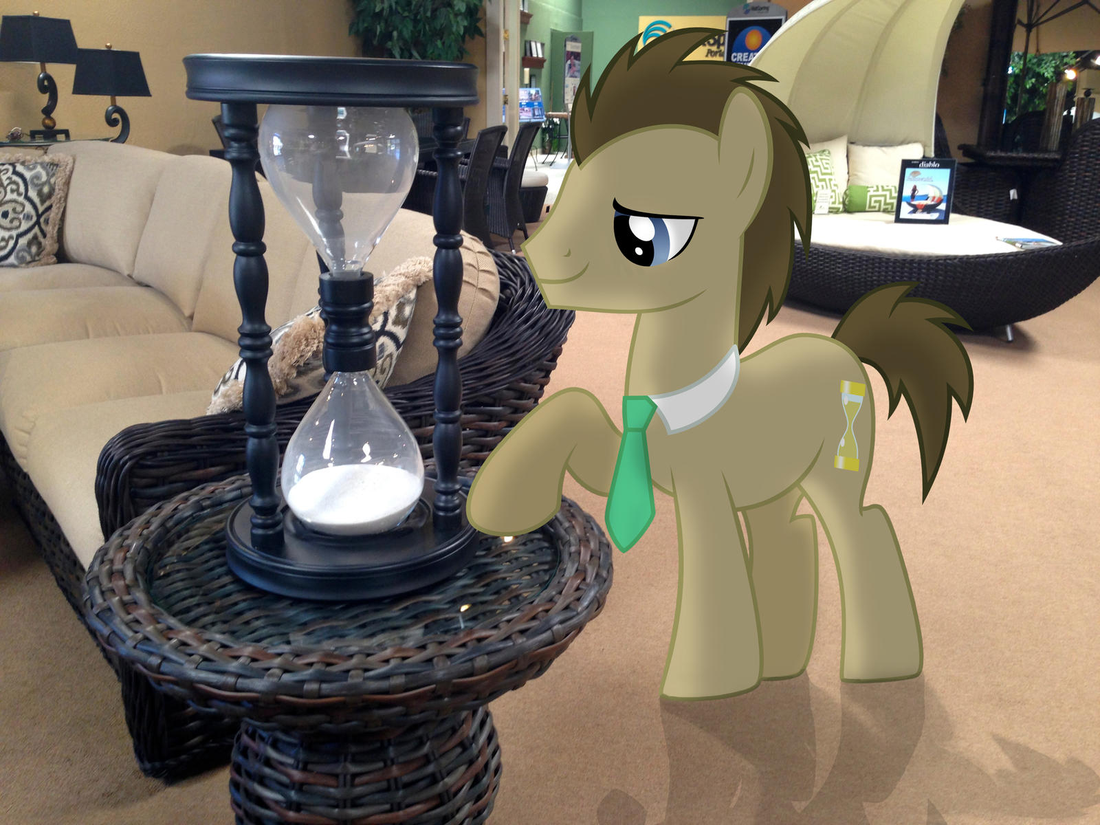 Doctor Whooves and the Hourglass by TheGreenMachine987
