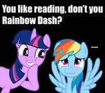 You Like Reading, Don't You Rainbow Dash?