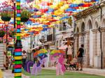 MLP Portugal Umbrellas