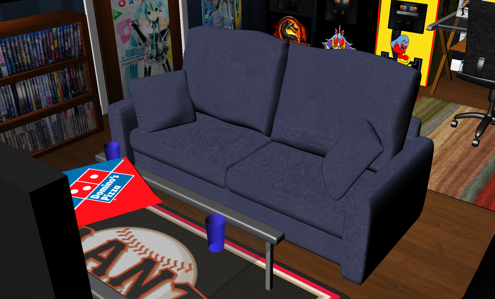 Dorm Room Couch By Greenmachine987 On Deviantart