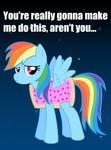 Nyan Rainbow Dash Poster