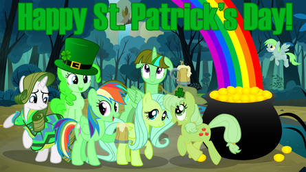 MLP St. Patrick's Day! by GreenMachine987