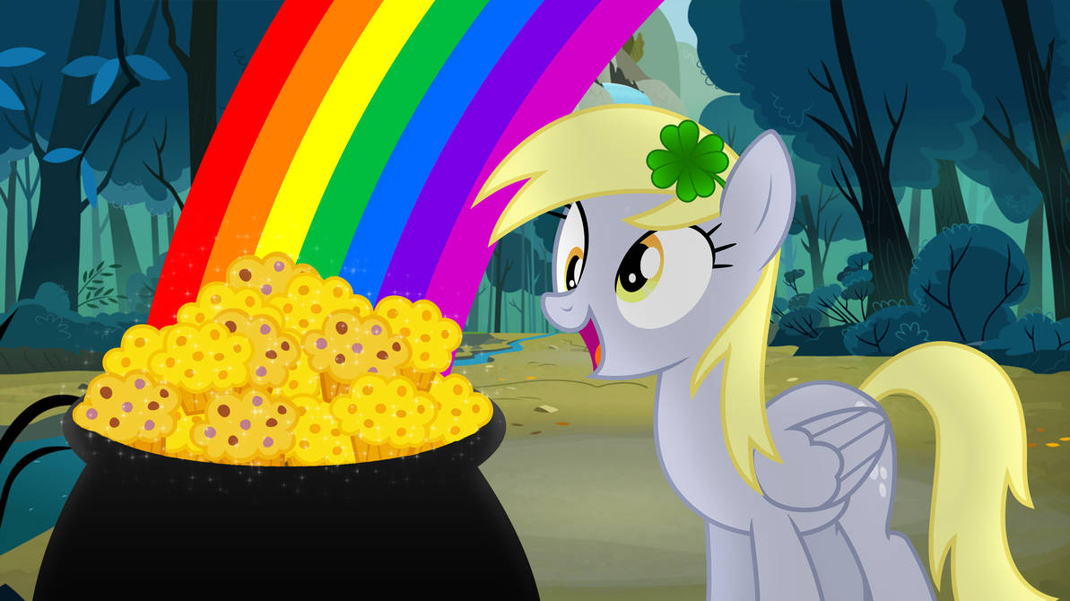 Derpy and the Pot of Gold Muffins by GreenMachine987