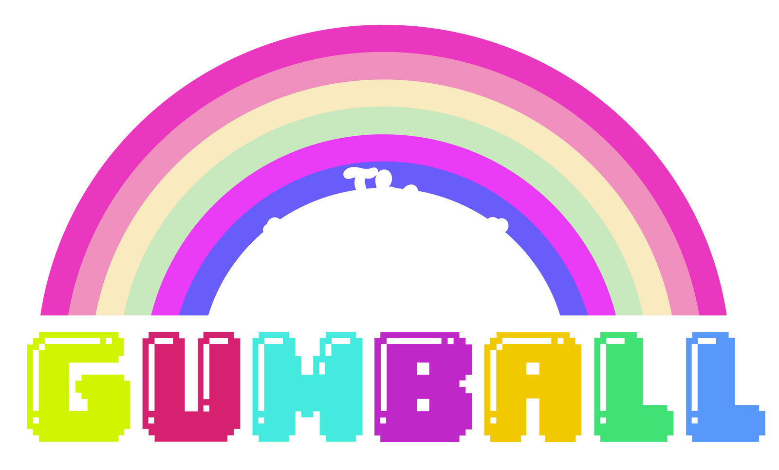 the amazing wolrd of gumball logo vector by greenmachine987 on