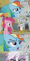 Gilda Dash GILDA DASH Pinkie Meme