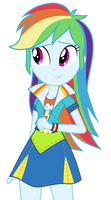 EG Rainbow Dash's New Dress Re-Done!