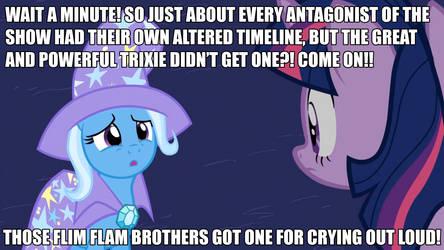 Poor Trixie by GreenMachine987