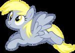 Derpy Flying Vector #2