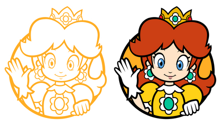 Daisy Character Select Icons