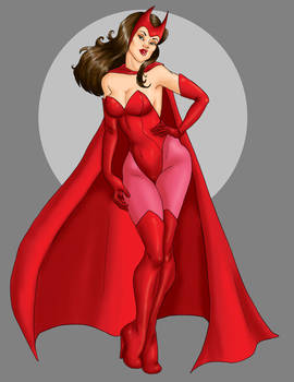 Scarlet Witch By Nojitsu