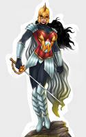 Wonder Woman by johnbecaro by singory