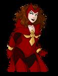 Phoenix Force Five Wanda by shoot-o