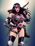 Cobra Wonder Woman by EWG