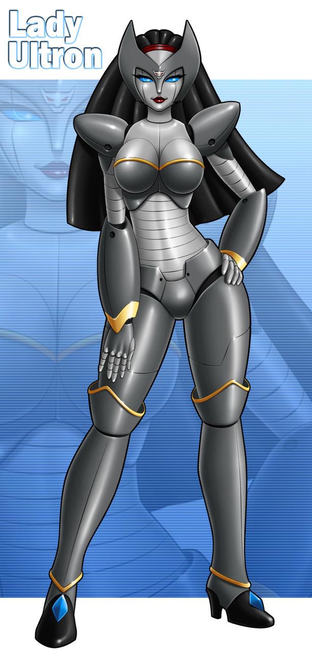 Lady Ultron By Idarkshadow by singory