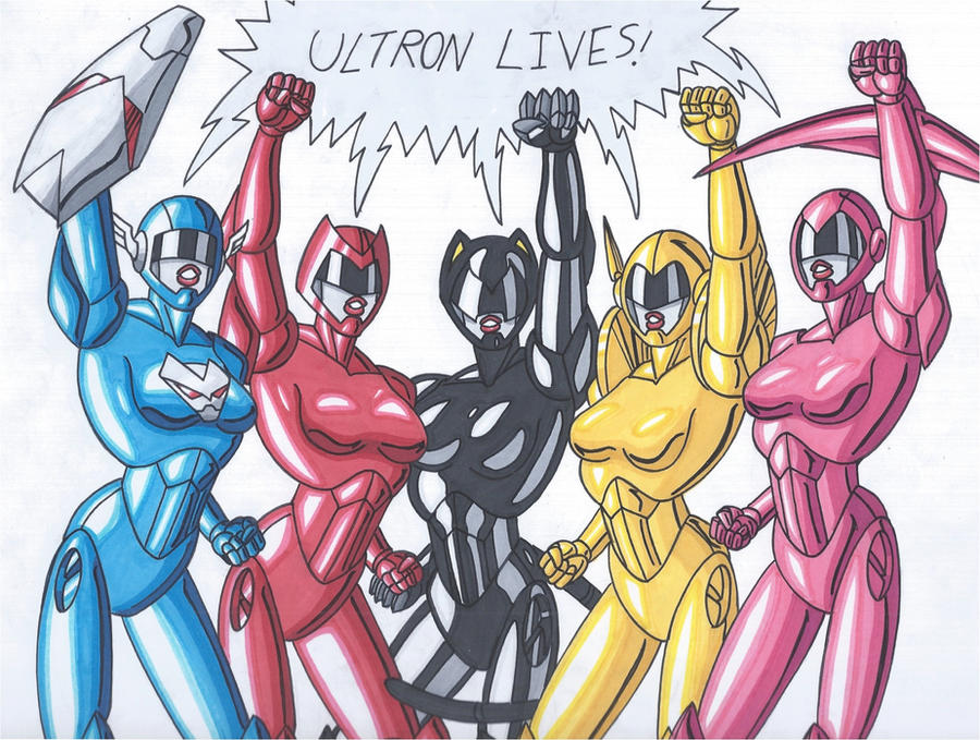 A sequence on how the avengers became feamle servants of ultron Ultron_avengers_6_6_by_mrinternetman_by_singory-d8r9xkc