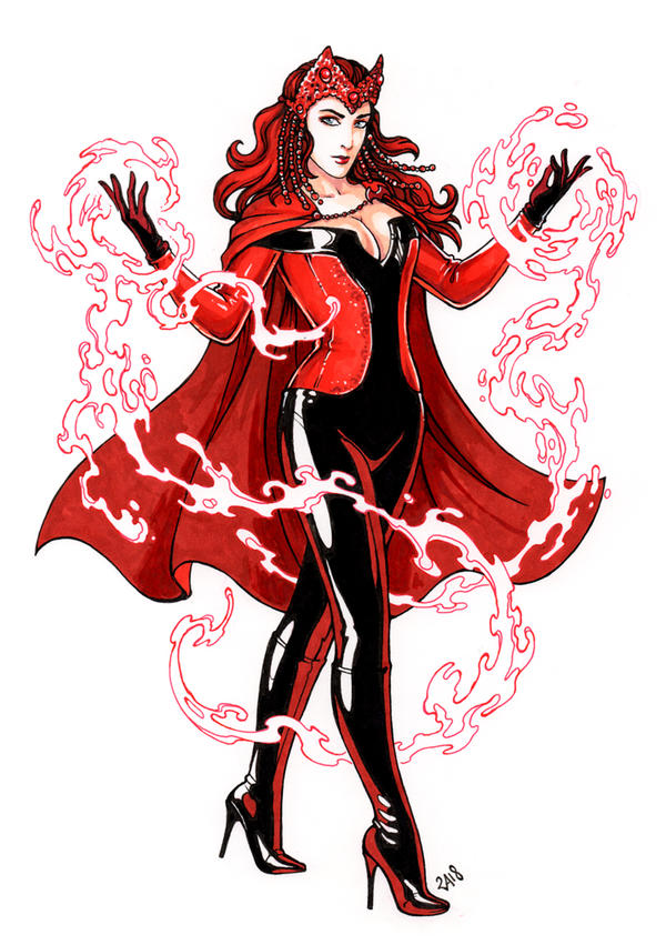 Scarlet Witch by Candra by singory
