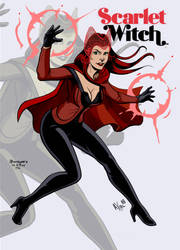 Scarlet Witch Axel ICB Darcsyde by singory