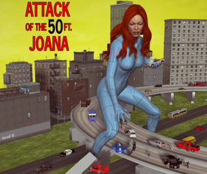Attack of the50ft Joana by hotrod5 by singory