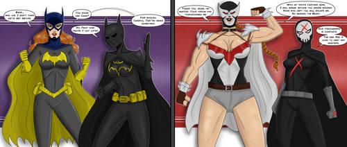 Batgirls By Polmanning by singory