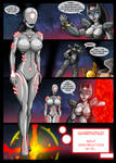 Lady Ultron adventure 4-4 by RE-maker