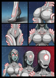 Lady Ultron adventure 3-4 by RE-maker