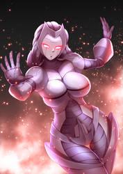 Lady Ultron by haryudanto