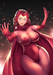 Scarlet Witch by haryudanto